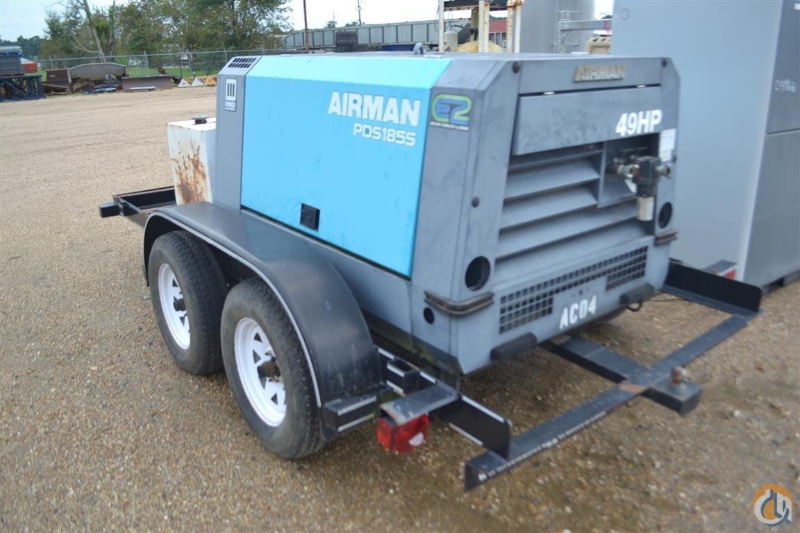 AIRMAN PDS185S Air Compressors AIRMAN PDS185S Henderson Auctions 23729 on CraneNetwork.com