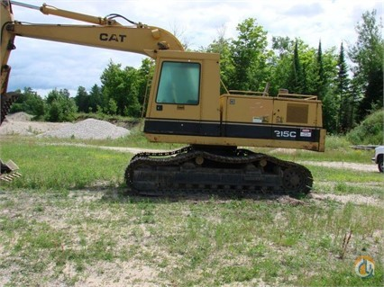 1988 Caterpillar 215C LC Crawler CATERPILLAR 215C LC Big D Heavy Equipment 152 on CraneNetworkcom