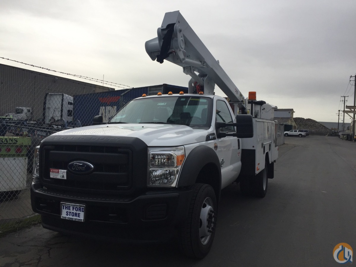 42 Insulated or Non-Insulated Bucket Truck FORD F550 Doc Bailey Construction Equipment Inc. 30185 on CraneNetwork.com