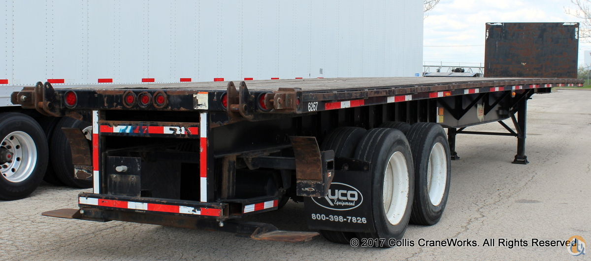 Used 2006 Wade WHT-45FT 45 flatbed trailer Trailers WADE WHT-45FT CraneWorks Inc. 23879 on CraneNetwork.com