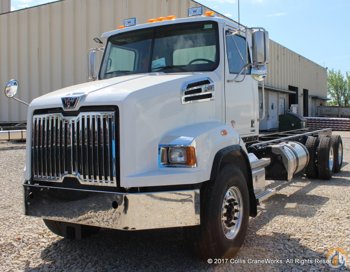 New 2018 Western Star 4700SB chassis Cab  Chassis Trucks WESTERN STAR 4700SB CraneWorks Inc. 23819 on CraneNetwork.com