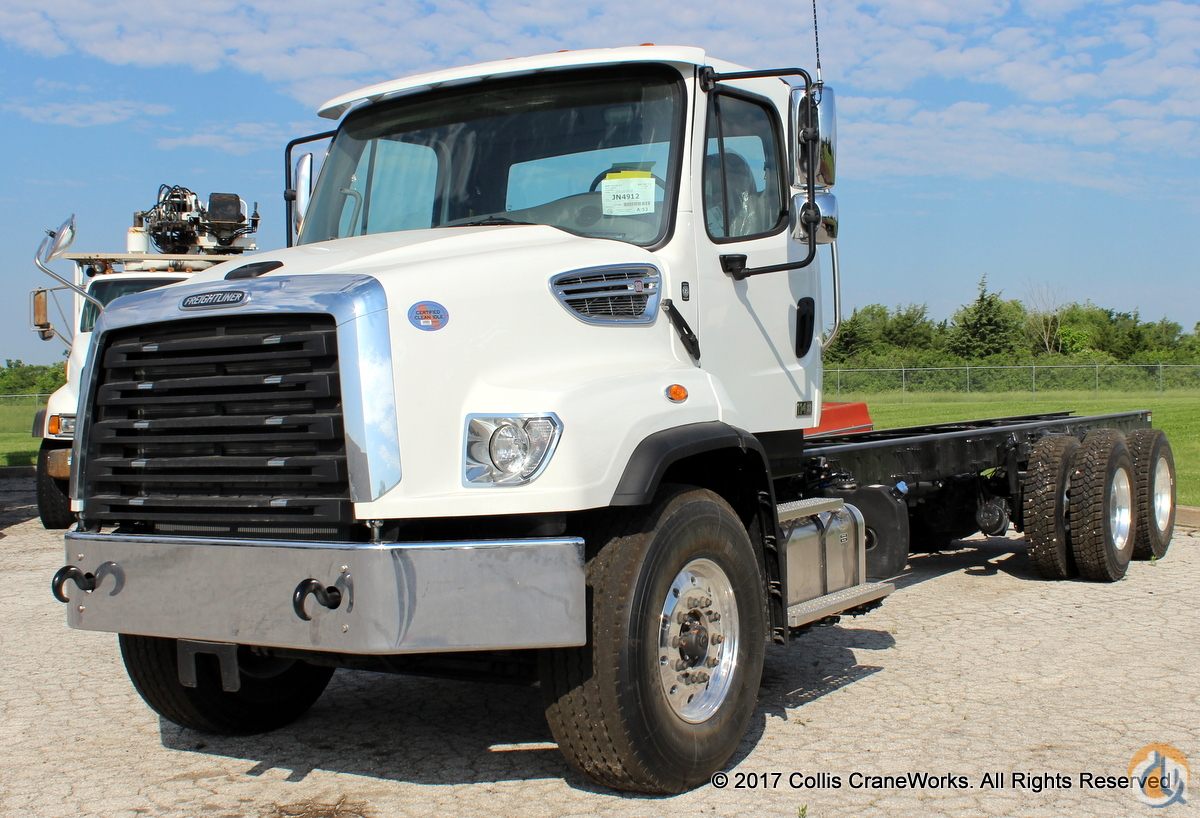 New 2018 Freightliner 114SD chassis Cab  Chassis Trucks FREIGHTLINER 114SD CraneWorks Inc. 23832 on CraneNetwork.com