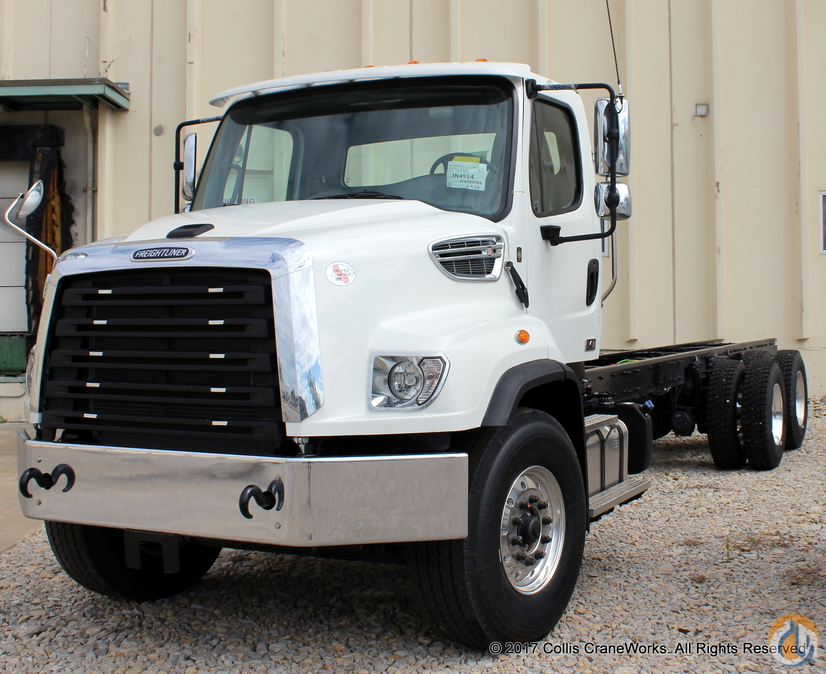 New 2018 Freightliner 114SD chassis Cab  Chassis Trucks FREIGHTLINER 114SD CraneWorks Inc. 23833 on CraneNetwork.com