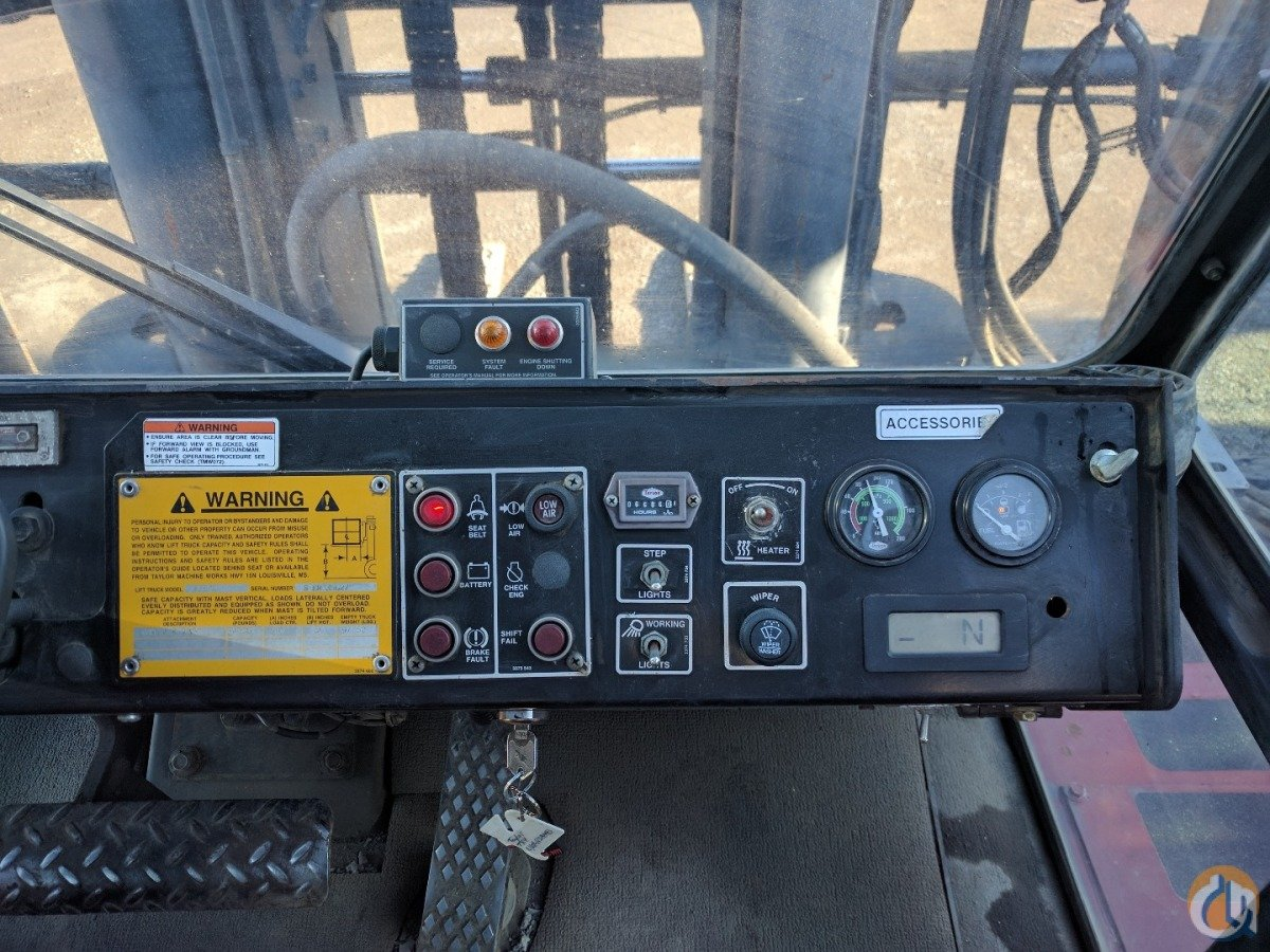 2008 Taylor T650L  Mast TAYLOR T650L Cropac Equipment Inc. 16330 on CraneNetwork.com