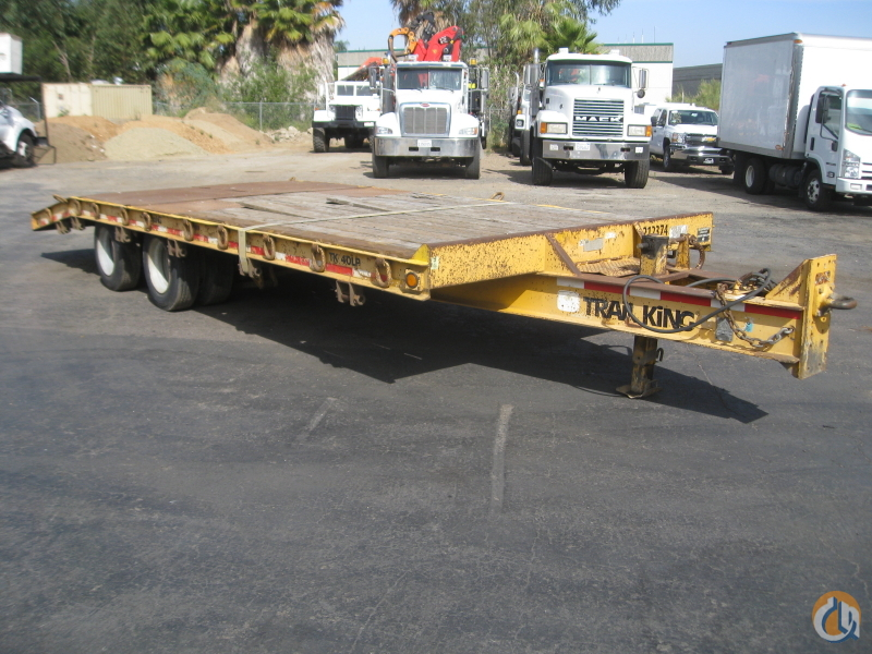 Used 2000 Trail King TK40LP tag trailer Trailers TRAIL KING TK40LP CraneWorks Inc. 22162 on CraneNetwork.com