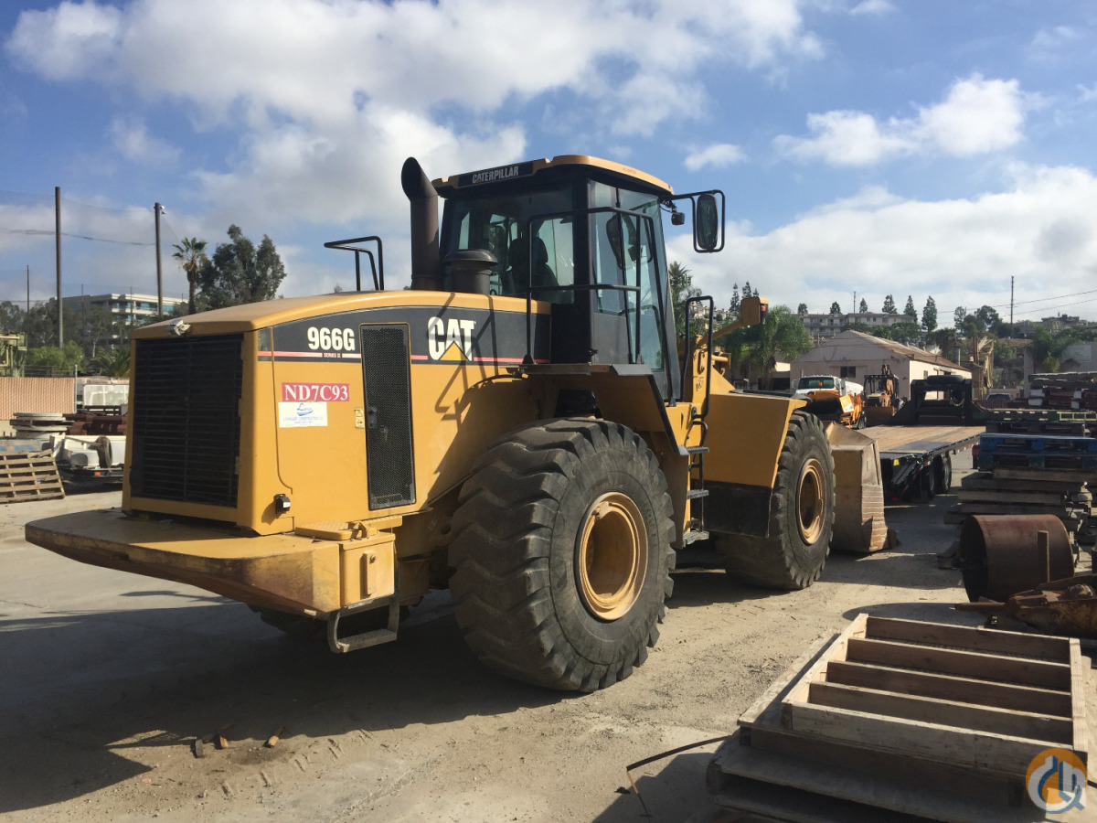 2004 CAT 966G II Wheel Loaders CATERPILLAR 966G Big D Heavy Equipment 119 on CraneNetwork.com