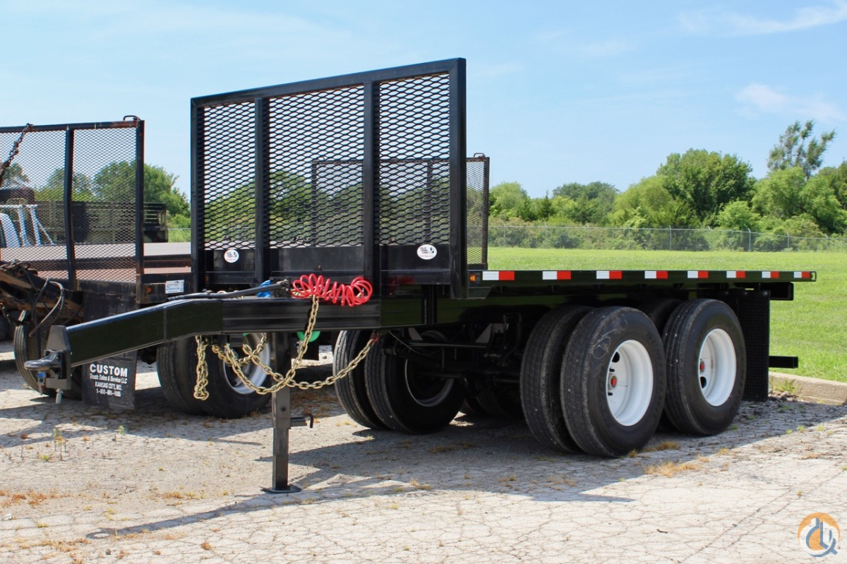 New 2016 CraneWorks 16 pup trailer Pup Trailer CRANEWORKS 16 Pup Trailer CraneWorks Inc. 23872 on CraneNetwork.com