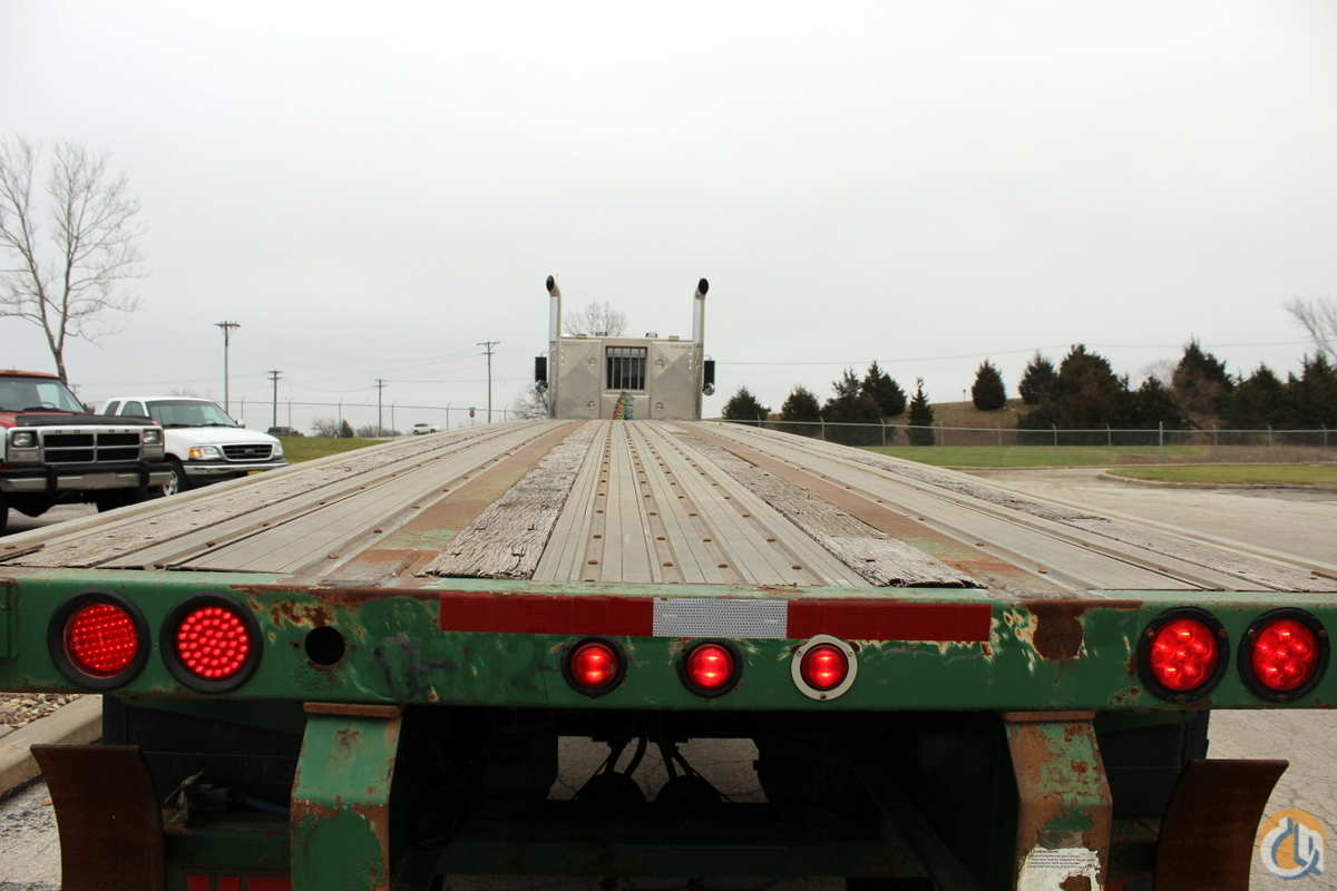 Used 2001 Great Dane 42 flatbed trailer Trailers GREAT DANE 42 CraneWorks Inc. 23876 on CraneNetwork.com