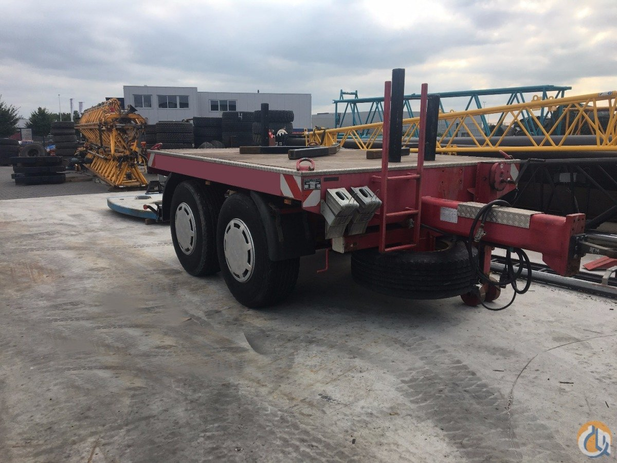 Hisle BAL218B counterweight trailer Other  MAN Hisle BAL218B KTR Trading BV 18270 on CraneNetworkcom