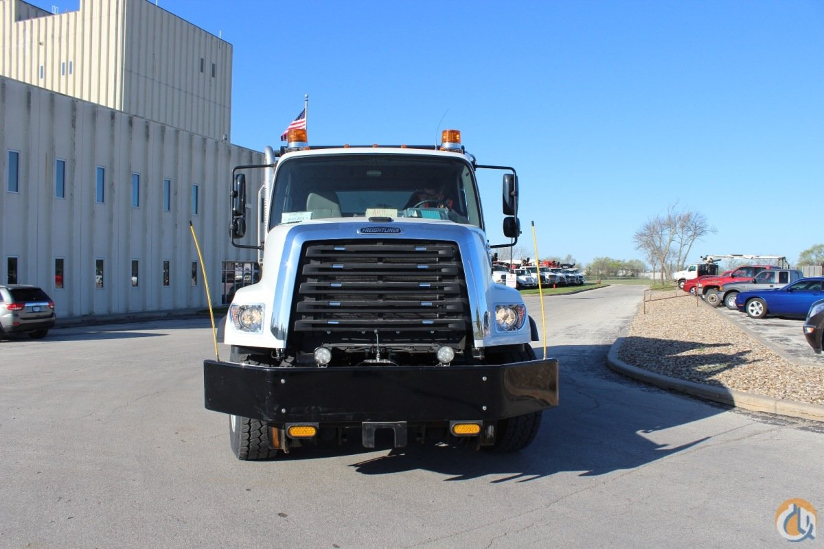 2016 Freightliner 108SD roto-dump truck with hi-rail package Dump Trucks  Trailers FREIGHTLINER 108SD CraneWorks Inc. 22160 on CraneNetwork.com