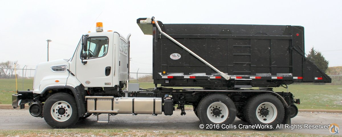 New 2017 Freightliner 108SD 12-14 yard roto-dump truck with DMF hi-rail package Rail FREIGHTLINER 108SD CraneWorks Inc. 23815 on CraneNetwork.com