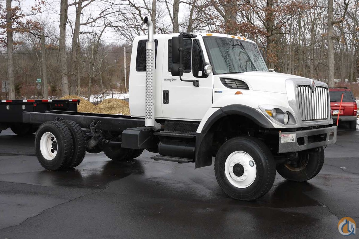 8637 - 2012 INTERNATIONAL WORKSTAR EXT CAB 4X4 CAB  CHASSIS Cab  Chassis Trucks INTERNATIONAL WORKSTAR Opdyke Inc. 12663 on CraneNetwork.com