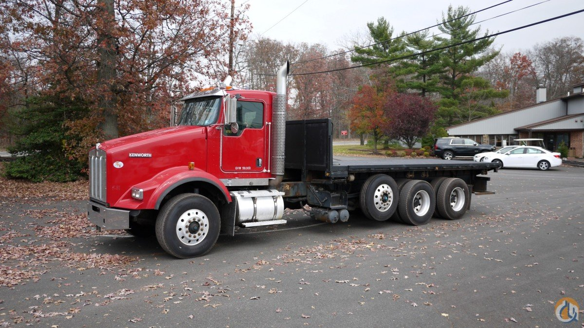 8761C - 2009 KENWORTH T800 20 FLATBED Flatbed Trucks  Trailer KENWORTH T800 Opdyke Inc 14780 on CraneNetworkcom