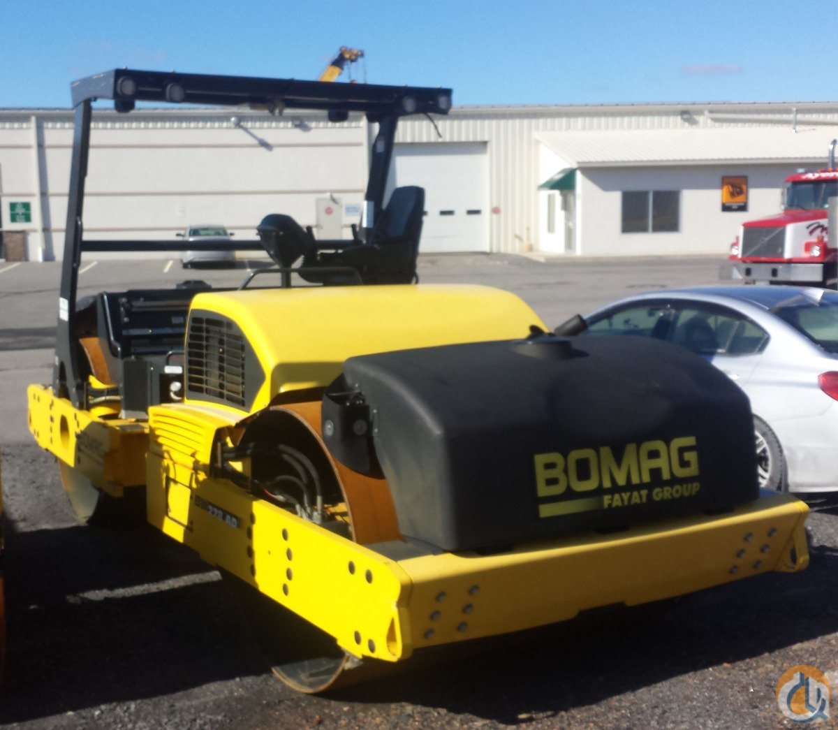 2012 BOMAG BW278AD-4 Smooth Drum BOMAG BW278AD-4 Stephenson Equipment Inc. 290 on CraneNetwork.com