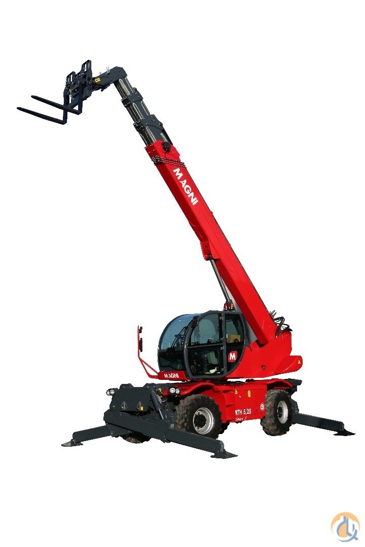 2017 Magni RTH 5.21 Smart S Telescopic MAGNI RTH 5.21 SMART S Empire Crane Co. LLC 709 on CraneNetwork.com