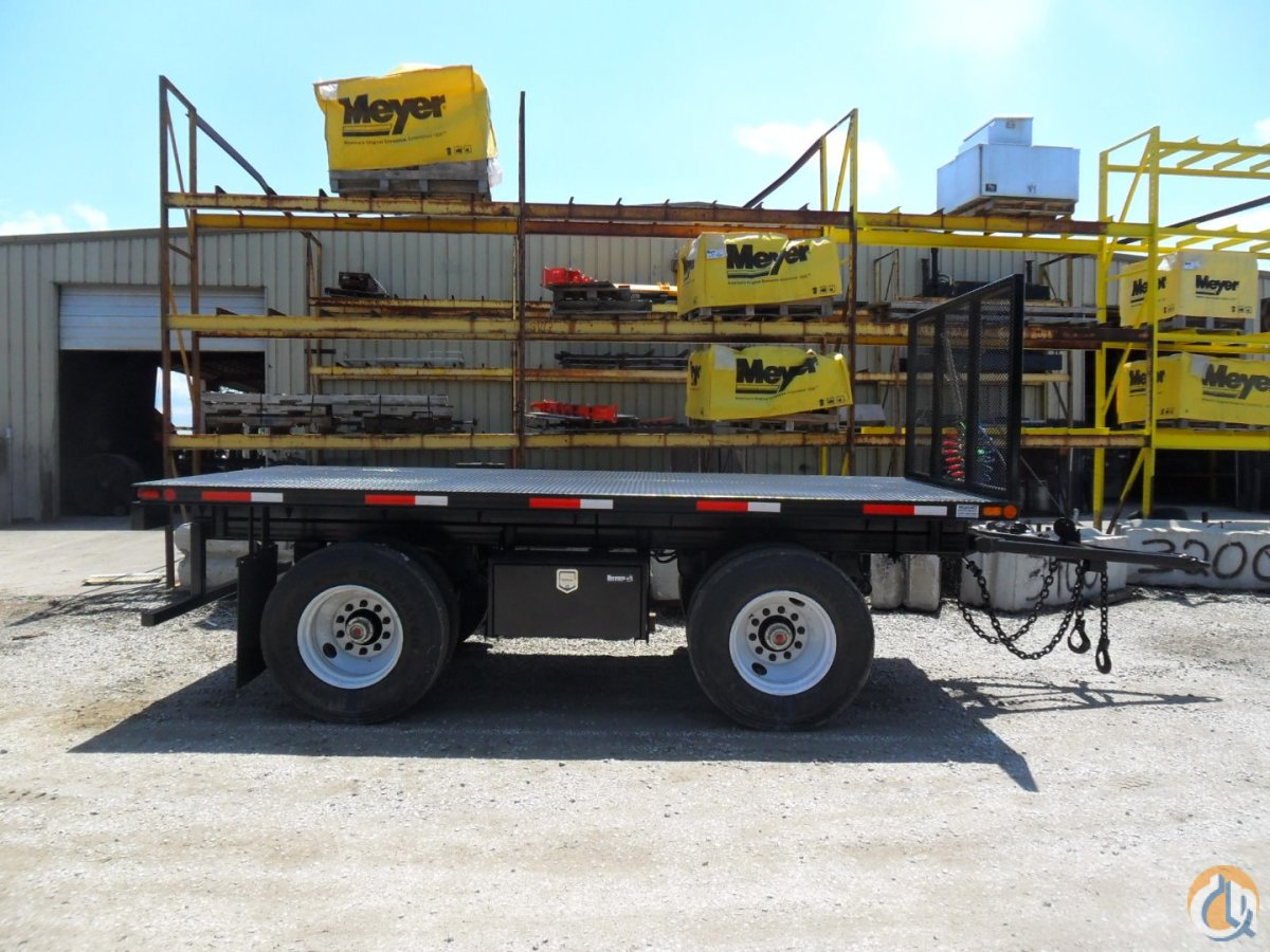 Flatbed Pup Trailers in Kansas City Pup Trailer MYNATT 16SA Mynatt Truck amp Equipment 19011 on CraneNetwork.com