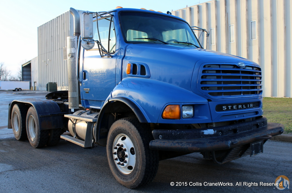 Used 2008 Sterling L9500 tractor Semi Truck  Trailers STERLING L9500 CraneWorks Inc. 23839 on CraneNetwork.com