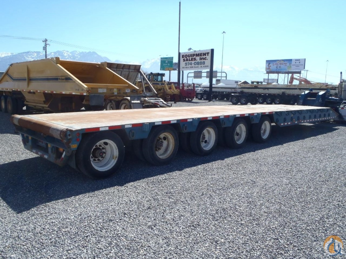 2012 TRAIL-EZE TE120-OF59 Trailers TRAIL-EZE TE120-OF59 Equipment Sales Inc 18236 on CraneNetworkcom