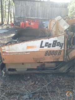 1990 Leeboy 8000B Asphalt  Pavers  Concrete Equipment LEEBOY 8000B Big D Heavy Equipment 132 on CraneNetwork.com