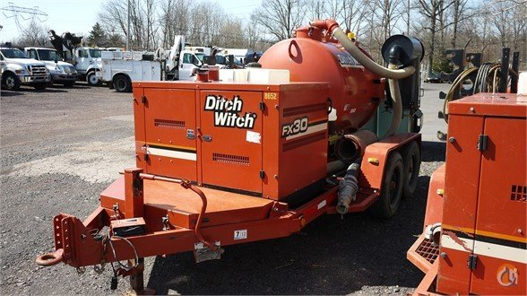 2011 DITCH WITCH 8652 Vacuum Truck  Trailers DITCH WITCH FX30 Opdyke Inc. 22148 on CraneNetwork.com