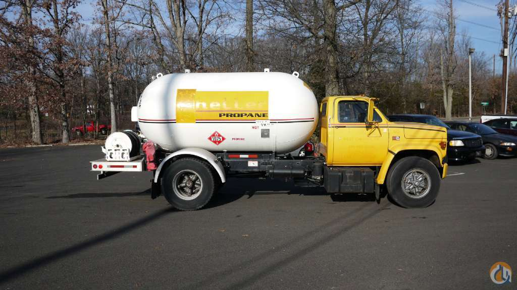 1989 GMC 7000 8731 Tank Trucks  Trailers GMC 7000 Opdyke Inc 317 on CraneNetworkcom