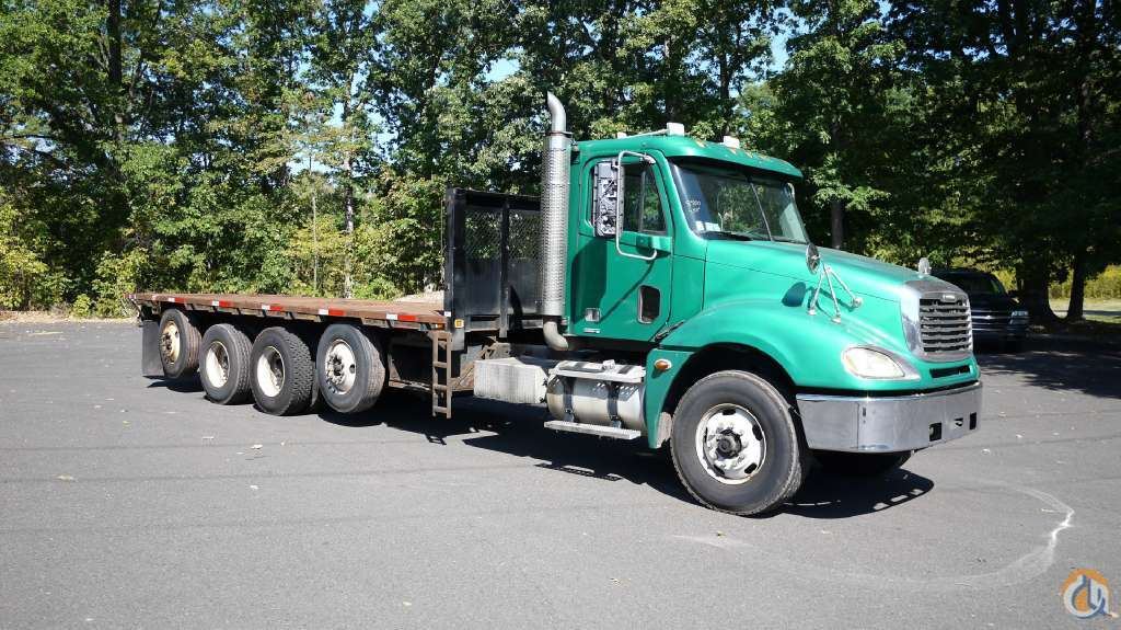 2007 FREIGHTLINER COLUMBIA 120 8800 Flatbed Trucks  Trailer FREIGHTLINER Columbia 120 Opdyke Inc 16426 on CraneNetworkcom
