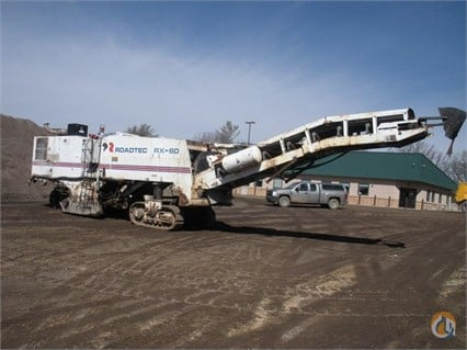 1995 RoadTec RX60 Asphalt  Pavers  Concrete Equipment ROADTEC RX60 Big D Heavy Equipment 108 on CraneNetworkcom