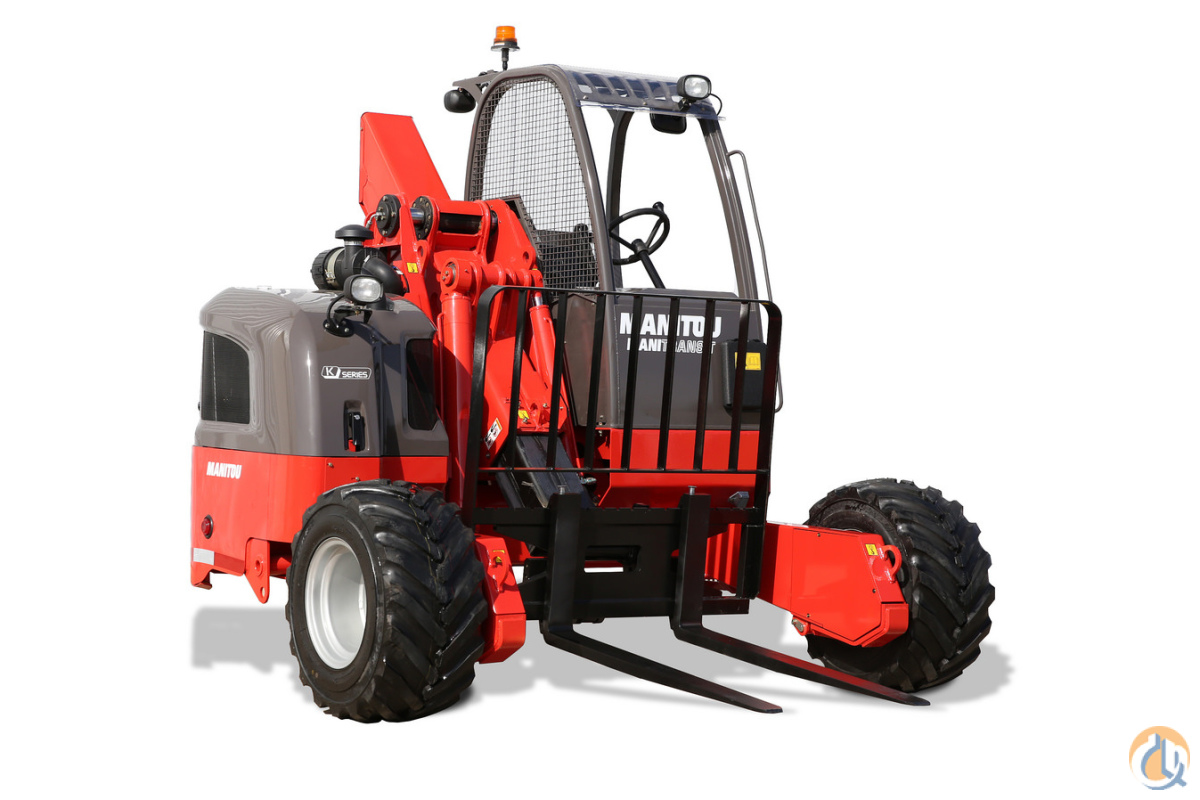 New 2017 Manitou TMT 55 HT 4W all-terrain truck mounted forklift Telescopic MANITOU TMT55HT4W CraneWorks Inc. 23867 on CraneNetwork.com