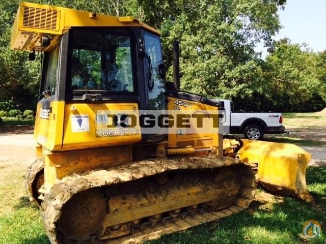 2014 Deere 450J Crawler DEERE 450J Doggett 16272 on CraneNetwork.com