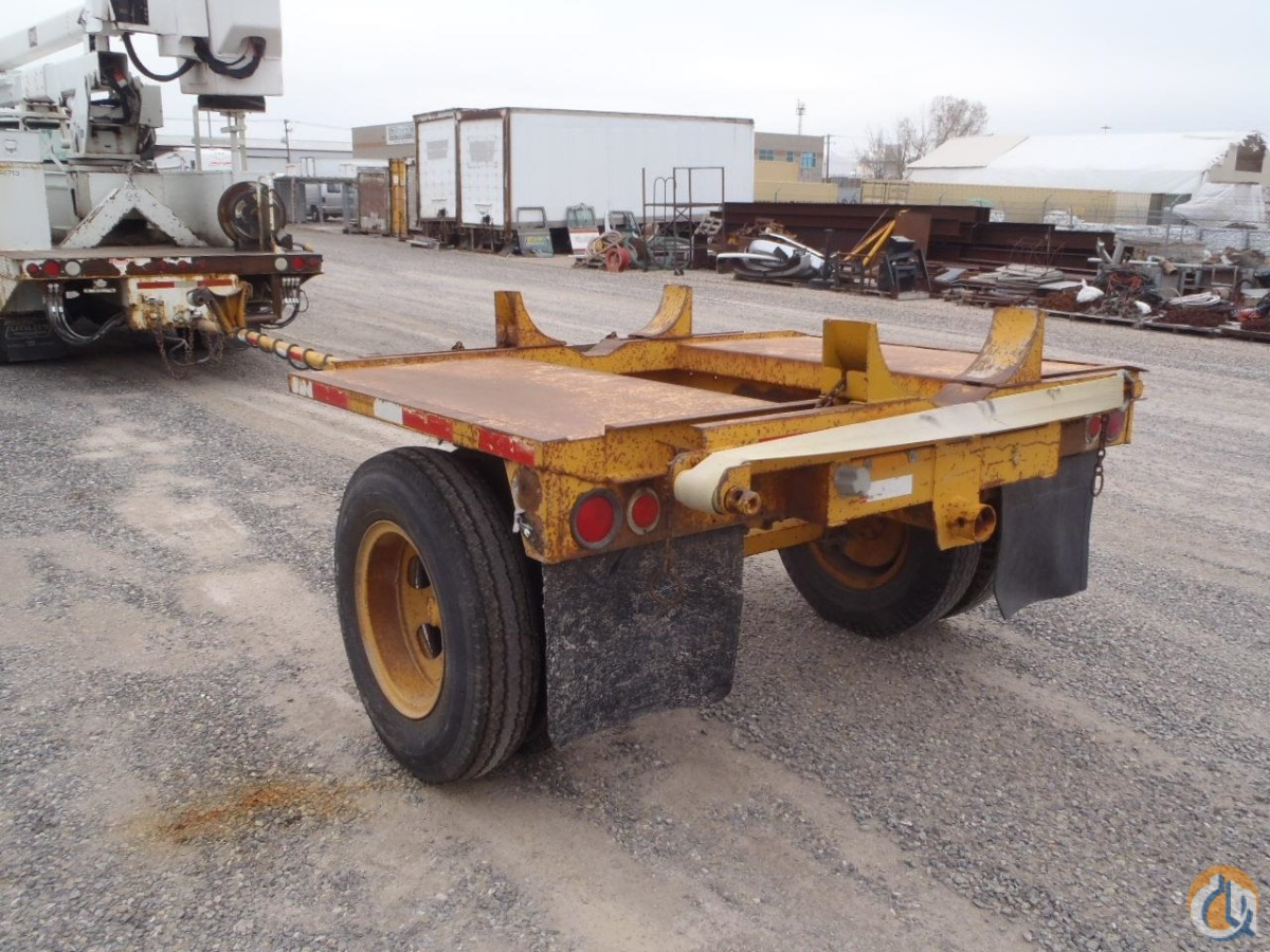 1969 CUSTOM BUILT Pole Trailer Trailers CUSTOM BUILT Pole Trailer Equipment Sales Inc. 18248 on CraneNetwork.com