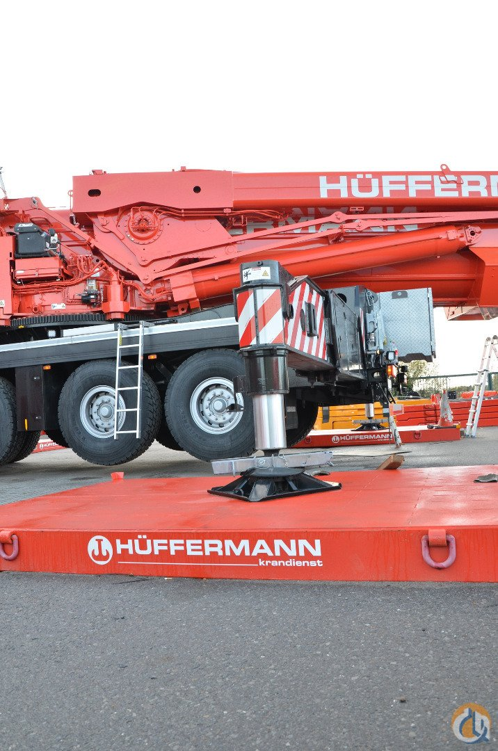 CRANE SUPPORT PLATES Aggregate Equipment  Crane support plates Huumlffermann Krandienst GmbH 39237 on CraneNetwork.com