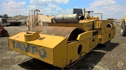 1982 Tampo RS166A Smooth Drum TAMPO RS166A Big D Heavy Equipment 284 on CraneNetworkcom