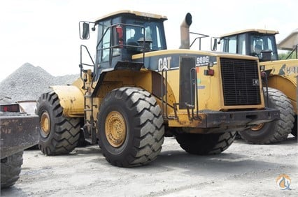 2004 Caterpillar 980G II Wheel Loaders CATERPILLAR 980G II Big D Heavy Equipment 234 on CraneNetworkcom