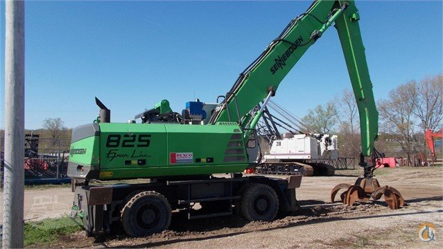 2007 SENNEBOGEN 825M Scrap Processing  Demolition Equipment SENNEBOGEN 825M Rexco Equipment Inc 21983 on CraneNetwork.com