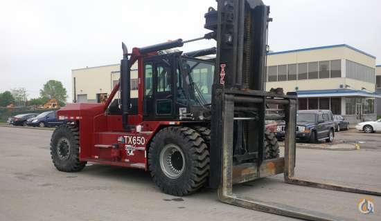 2012 Taylor TX650L  Mast TAYLOR TX650L Cropac Equipment Inc 16338 on CraneNetworkcom