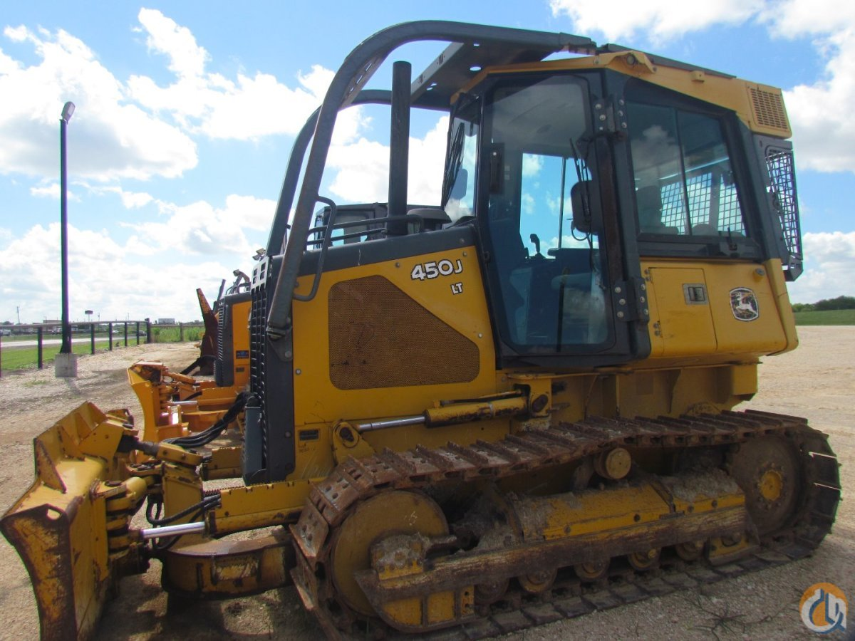2007 DEERE 450J LT D28109 Crawler DEERE 450J LT Lambert International LP 21655 on CraneNetworkcom