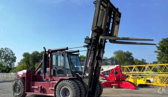2011 Taylor TX650L  Mast TAYLOR TX650L Cropac Equipment Inc 16333 on CraneNetworkcom