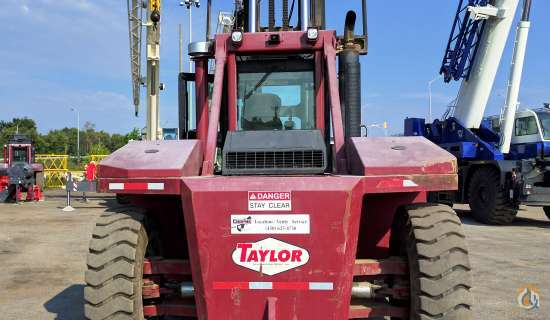 2011 Taylor TX650L  Mast TAYLOR TX650L Cropac Equipment Inc. 16333 on CraneNetwork.com