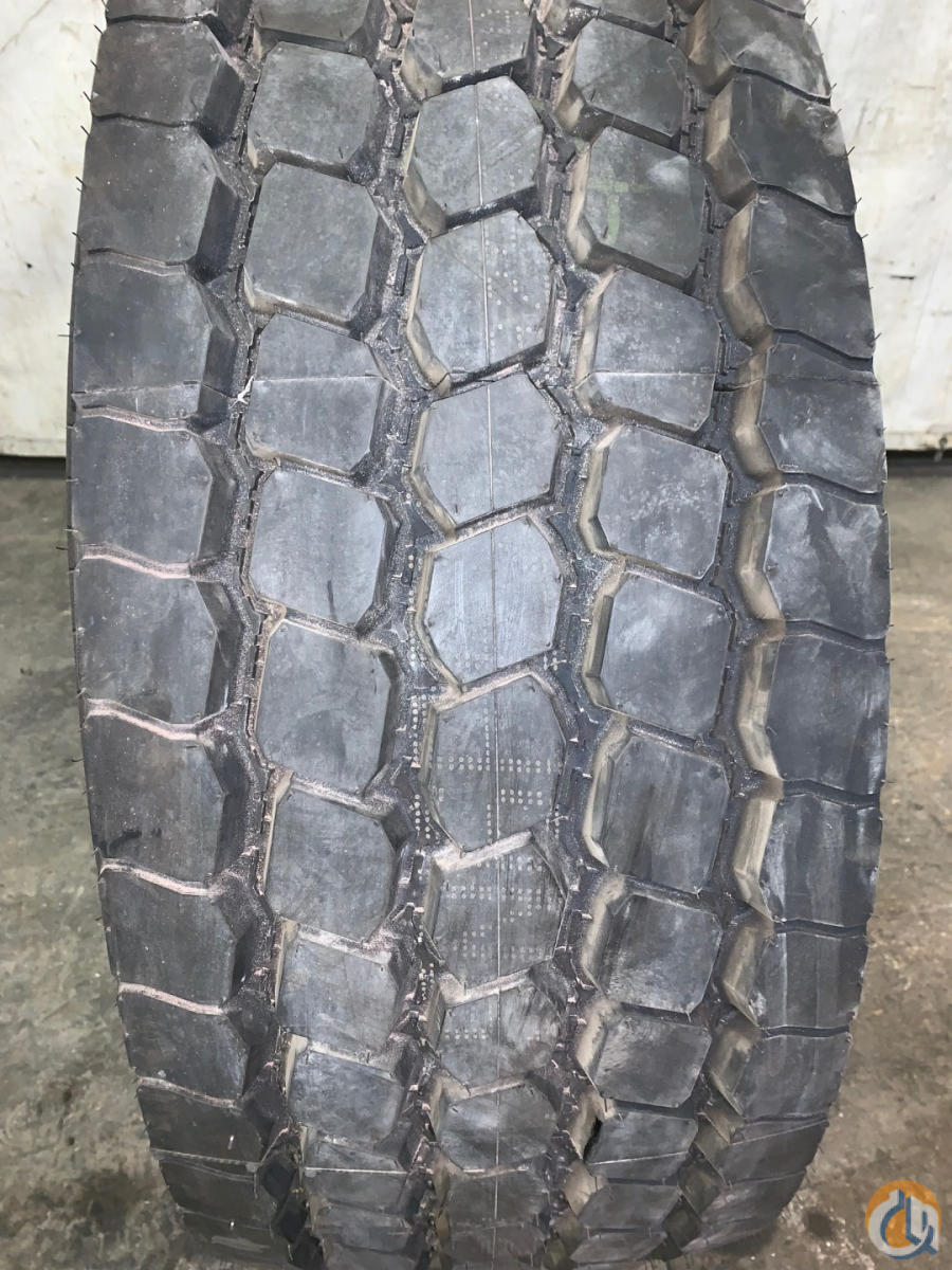 Goodyear GOODYEAR TIRE 44565R22.5 G296 MSA 20 PLY DATE CODE- MAY 2012 Tires Crane Part for Sale in Coffeyville Kansas on CraneNetwork.com