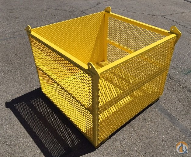 Transworld Manufacturing Material Basket Material Skiff Crane Part for Sale in Las Vegas Nevada on CraneNetworkcom