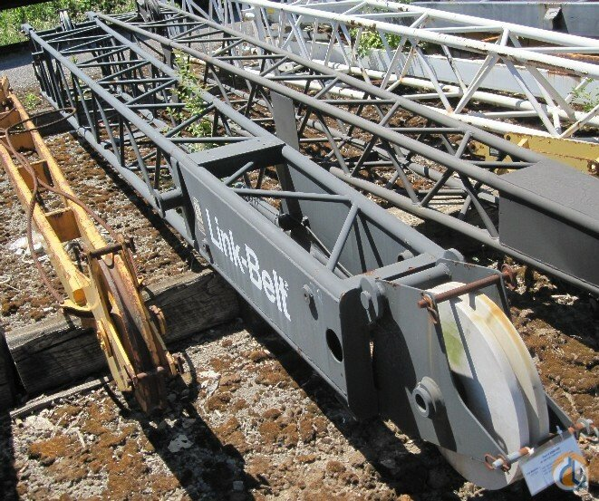 Link-Belt 69M0489 - Link-Belt 25039 swingaway Jib Sections  Components Crane Part for Sale in Cleveland Ohio on CraneNetworkcom