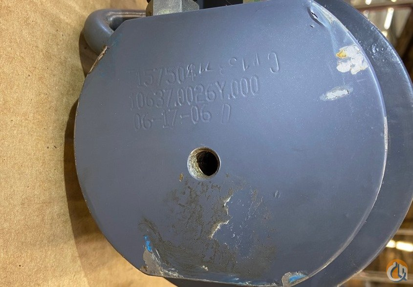 Unknown OUTRIGGER CYLINDER T157504 10637.0026Y.000 APPROX. STROKE 24 5 BORE 38 LENGTH 6 12 OUTSIDE DIAMETER Cylinders Crane Part for Sale in Coffeyville Kansas on CraneNetwork.com