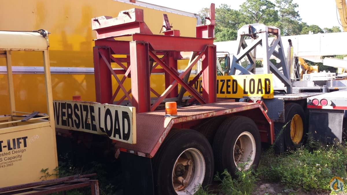 Nelson Used and new Nelson Boom dollys fitting many cranes Boom Dolly Crane Part for Sale in Fort Pierce Florida on CraneNetwork.com