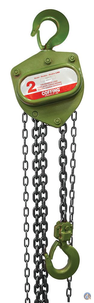 Coffing Coffing 2 Ton Hand Chain Hoistbr LHH-2B Hoisting Crane Part for Sale on CraneNetwork.com