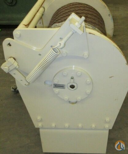 Braden BRADEN GEARMATIC WINCH PD15B-SPL-34V061031-06UG GROOVED DRUM 15OOOlbs CAP. Winches  Drums Crane Part for Sale in Coffeyville Kansas on CraneNetwork.com