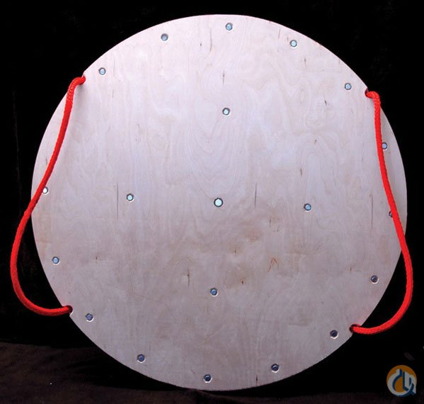 Various Manufacturers Round Multi-Layered Plywood Outrigger Mats Pads and Cribbing Crane Part for Sale in New York New York on CraneNetworkcom