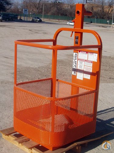 Unknown 1-Man Basket w pin lock Man Baskets Crane Part for Sale in Milwaukee Wisconsin on CraneNetwork.com