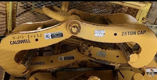 Caldwell Beam Clamps Rigging Crane Part for Sale on CraneNetwork.com