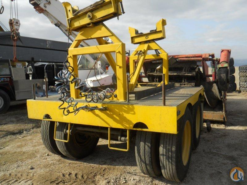 Unknown TWO AXLE BOOM DOLLY FOR SALE Boom Dolly Crane Part for Sale in Fontana California on CraneNetworkcom