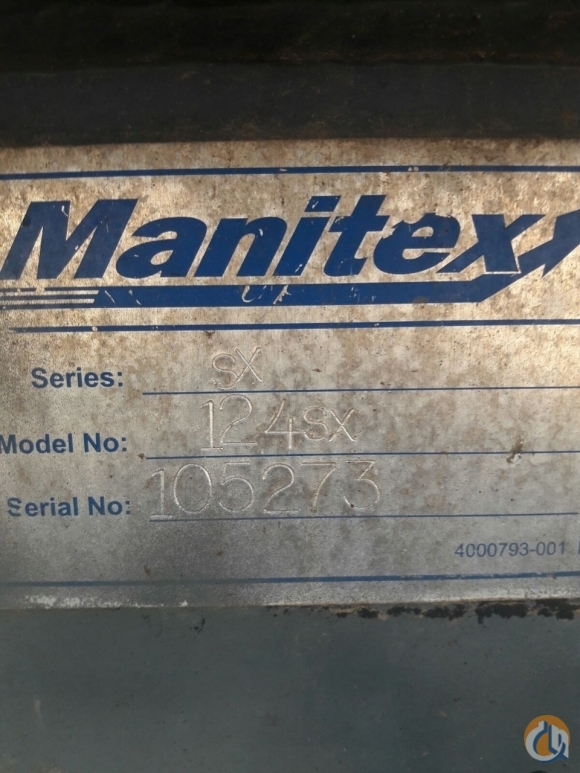 Manitex Manitex 124SX Static jib Jib Sections  Components Crane Part for Sale on CraneNetworkcom